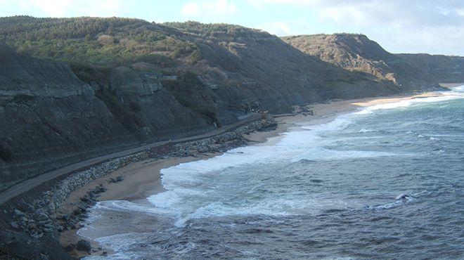 Praia de Porto das Barcas&#10Local: Lourinhã&#10Foto: CM Lourinhã