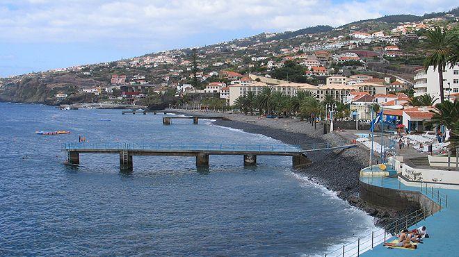 Zona Balnear das Palmeiras&#10Local: Santa Cruz - Madeira&#10Foto: ABAE