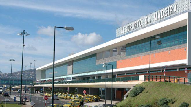 Aeroporto da Madeira Local: Madeira  Foto:  ©ANA Aeroportos de Portugal SA