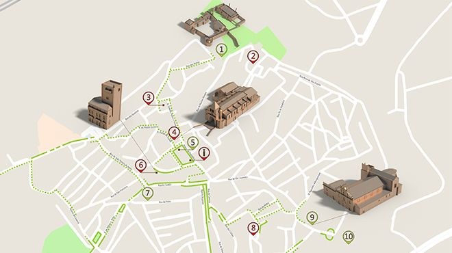 Mapa de Elvas - Itinerário turístico acessível 照片: ICVM