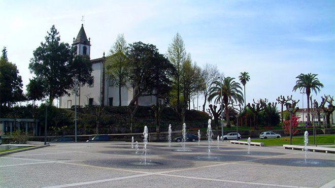 Lousada - Praça das Poçinhas&#10Local: Lousada&#10Foto: CM de Lousada