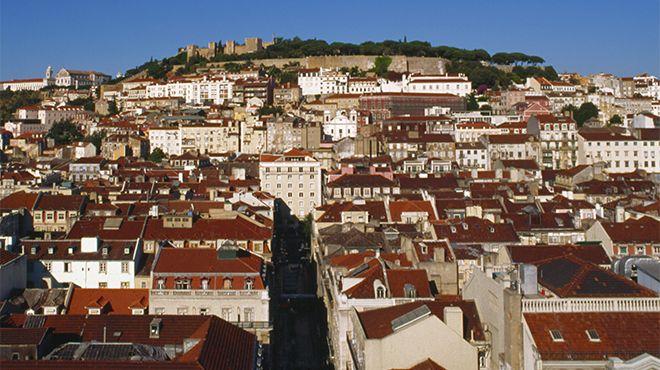 Castelo de São Jorge Lugar Lisboa Foto: João Paulo