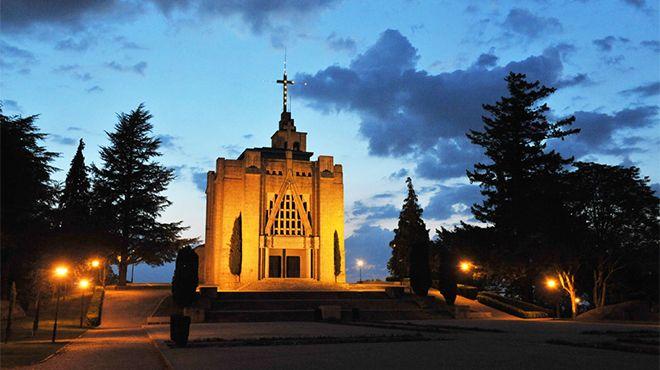 Santuário de Nossa Senhora da Penha&#10Foto: Fundação