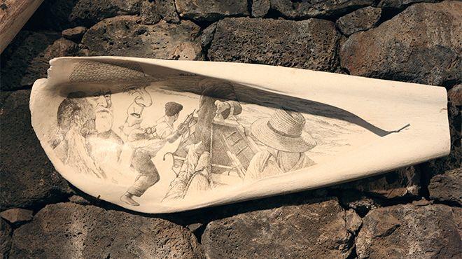Museu de Scrimshaw&#10Lieu: Açores&#10Photo: Gustav - Turismo dos Açores