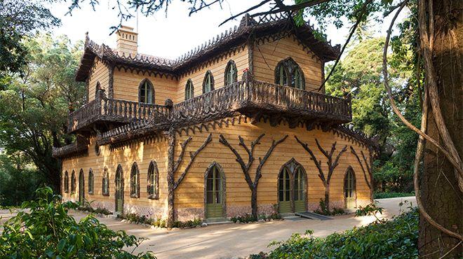 Chalet da Condessa d´Edla Ort: Sintra Foto: Giorgio Bordino