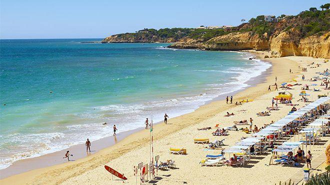 Praia Maria Luísa&#10Ort: Albufeira&#10Foto: Helio Ramos - Turismo do Algarve