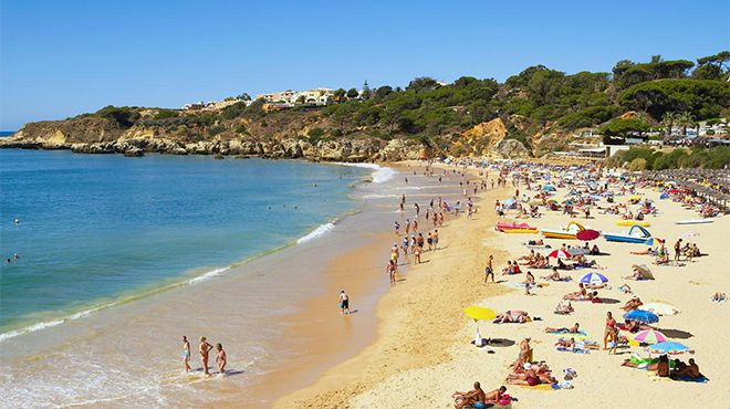 Praia da Oura Photo: Credito Helio Ramos - Turismo do Algarve