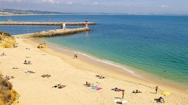Praia da Batata Local: Lagos Foto: Turismo do Algarve