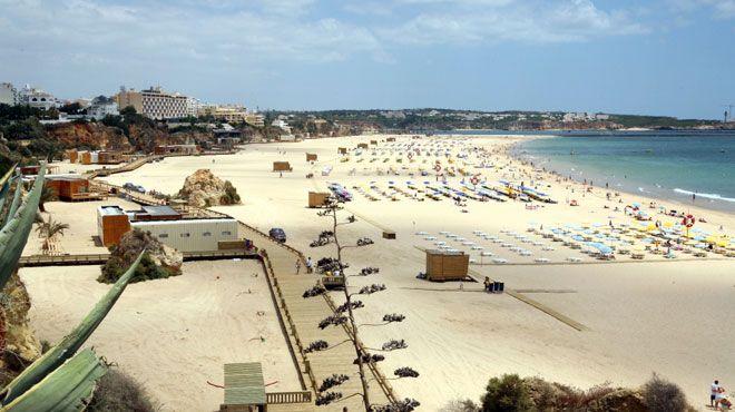 Praia da Rocha Plaats: Portimão Foto: Associação da Bandeira Azul Europa