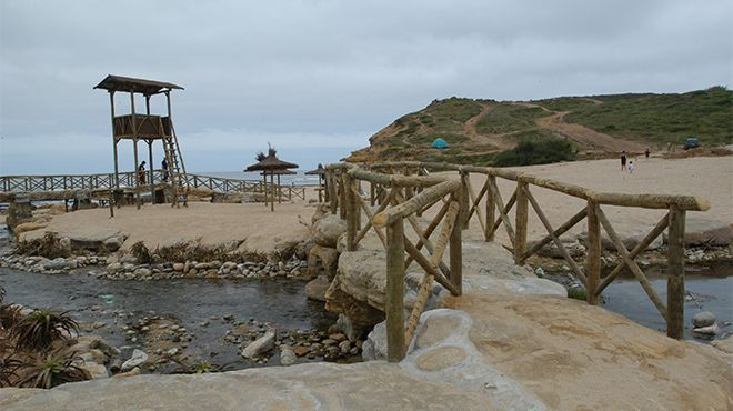 Praia da Ribeira d'Ilhas&#10Place: Ericeira