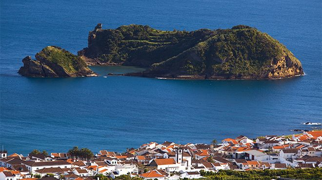 Reserva Natural Regional Ilhéu de Vila Franca Foto: Veraçor - Turismo dos Açores