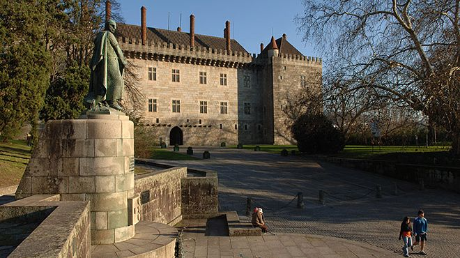 Paço dos Duques de Bragança Place: Guimarães Photo: Direcção Regional de Cultura do Norte