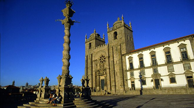Sé Catedral do Porto 場所: Porto