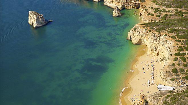 Praia dos Caneiros Место: Lagoa Фотография: Turismo do Algarve / Hélio Ramos