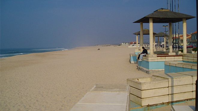 Praia do Furadouro&#10Lieu: Ovar&#10Photo: Associação da bandeira azul europeia
