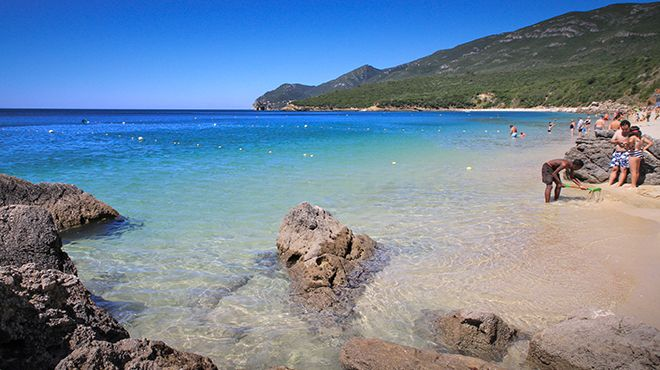 Praia de Galapos&#10Place: Setúbal