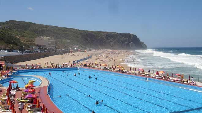 Praia Grande - Sintra&#10Luogo: Sintra&#10Photo: Associação Bandeira Azul da Europa