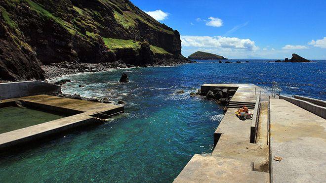 Piscinas do Carapacho Ort: Ilha Graciosa Foto: Publiçor