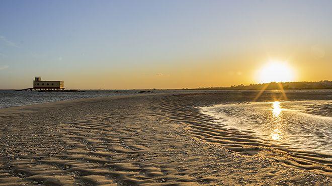 Praia da Ilha da Fuzeta 地方: Olhão 照片: Shutterstock_AG_Carlos Neto