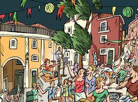 リスボンの祭り