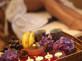 A day of wellness at a spa