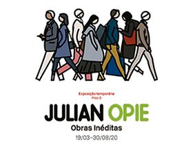 Julian Opie. New works - Berardo Mu