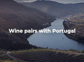 Wine pairs with Portugal