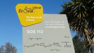 Ecovia do Litoral Local: Vila Real de Santo António Foto: TdP/CS