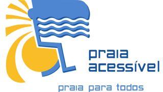 Praia acessível_logo