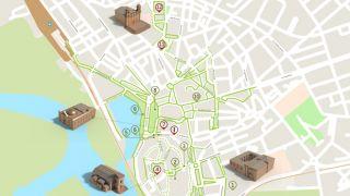 Mapa Faro - acessível