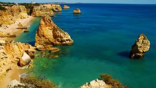 Algarve 地方: Marinha 照片: Marinha