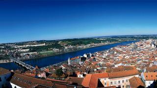 Vista sobre a cidade Local: Coimbra Foto: Turismo Centro de Portugal