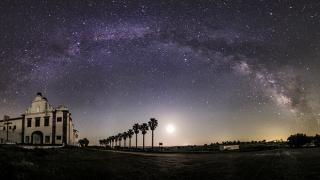 Convento&#10Place: Monsaraz&#10Photo: Dark sky Alqueva, Miguel Claro