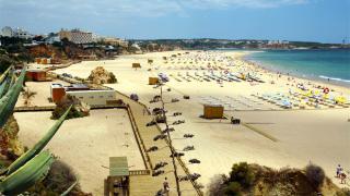 Praia da Rocha Local: Portimão Foto: Câmara Municipal de Portimão