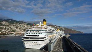 Porto da Madeira LugarFunchal Foto:Administração dos Portos da Região Autónoma da Madeira, S.A.