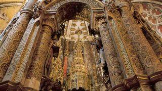 Convento de Cristo - Charola&#10Place:Tomar&#10Photo:Região de Turismo dos Templários