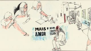 Urban Sketchers nos Açores  場所: Ilha Terceira, Açores 写真: Alexandra Baptista