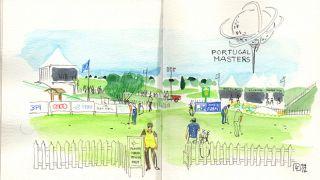 Urban Sketchers - Luis Frasco - Portugal Masters  Plaats: Algarve