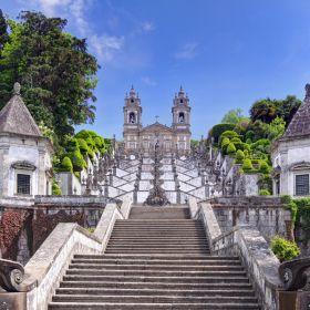 Santuario Bom Jesus Monte BragaPlace: BragaPhoto: Shutterstock_Henner Damke