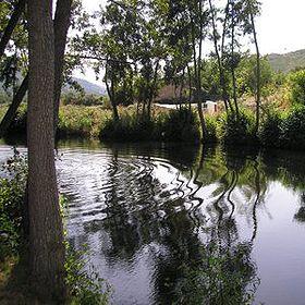 Praia fluvial de Aldeia ViçosaLieu: GuardaPhoto: ABAE