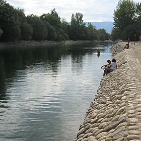 Praia fluvial de ValhelhasLieu: GuardaPhoto: ABAE