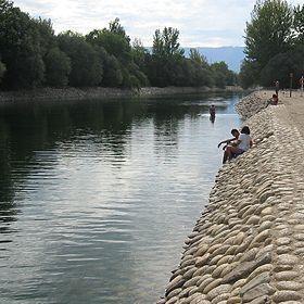 Praia fluvial de ValhelhasLocal: GuardaFoto: ABAE