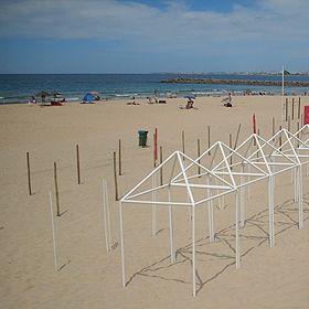 Praias da vila - Costa de Caparica場所: Costa de Caparica - Almada写真: ABAE