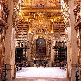 Biblioteca JoaninaLugar Universidade de CoimbraFoto: Sebastião da Fonseca