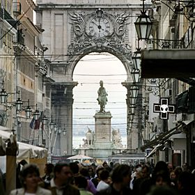 Baixa - LisboaLocal: BaixaFoto: Turismo de Lisboa