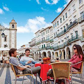 Praça do Giraldo, ÉvoraPlace: Praça do GiraldoPhoto: Turismo do Alentejo