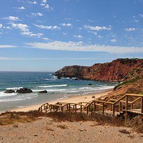 Praia do AmadoPlaats: AljezurFoto: Turismo do Algarve
