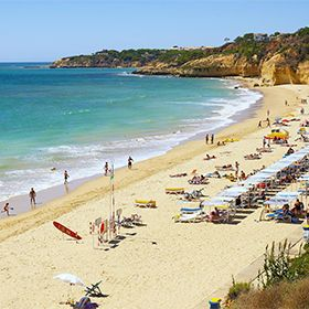 Praia Maria LuísaLocal: AlbufeiraFoto: Helio Ramos - Turismo do Algarve