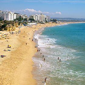 Praia de Armação de PeraPhoto: Helio Ramos - Turismo do Algarve
