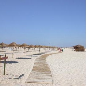 Praia da Ilha de Tavira-Mar